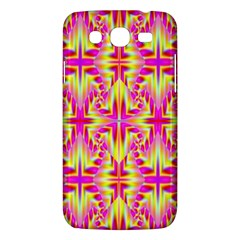 Pink And Yellow Rave Pattern Samsung Galaxy Mega 5 8 I9152 Hardshell Case  by KirstenStar