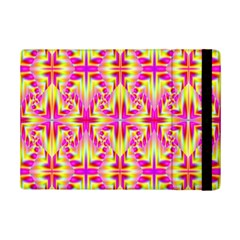 Pink And Yellow Rave Pattern Apple Ipad Mini 2 Flip Case