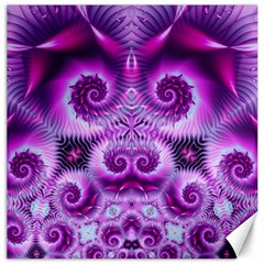 Purple Ecstasy Fractal Canvas 16  X 16
