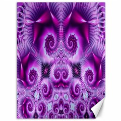 Purple Ecstasy Fractal Canvas 36  X 48  by KirstenStar