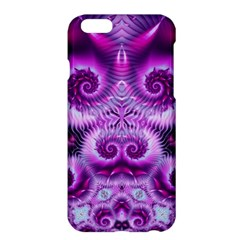 Purple Ecstasy Fractal Apple Iphone 6 Plus Hardshell Case by KirstenStar