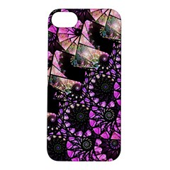 Hippy Fractal Spiral Stacks Apple Iphone 5s Hardshell Case by KirstenStar