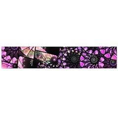 Hippy Fractal Spiral Stacks Flano Scarf (large) by KirstenStar