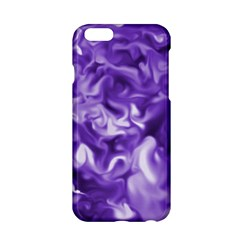 Lavender Smoke Swirls Apple Iphone 6 Hardshell Case by KirstenStar
