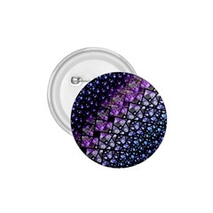 Dusk Blue And Purple Fractal 1 75  Button by KirstenStar