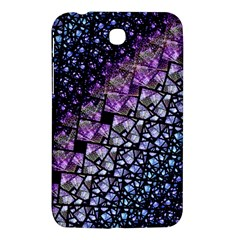 Dusk Blue And Purple Fractal Samsung Galaxy Tab 3 (7 ) P3200 Hardshell Case  by KirstenStar