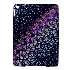 Dusk Blue And Purple Fractal Apple Ipad Air 2 Hardshell Case by KirstenStar