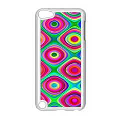 Psychedelic Checker Board Apple Ipod Touch 5 Case (white) by KirstenStar
