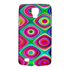 Psychedelic Checker Board Samsung Galaxy S4 Active (i9295) Hardshell Case by KirstenStar
