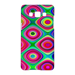 Psychedelic Checker Board Samsung Galaxy A5 Hardshell Case  by KirstenStar