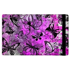Butterfly Graffiti Apple Ipad 2 Flip Case