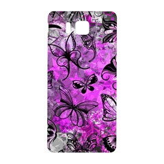 Butterfly Graffiti Samsung Galaxy Alpha Hardshell Back Case by ArtistRoseanneJones