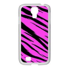 Pink Tiger Samsung Galaxy S4 I9500/ I9505 Case (white)