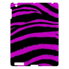 Pink Zebra Apple Ipad 3/4 Hardshell Case by ArtistRoseanneJones
