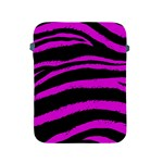 Pink Zebra Apple iPad Protective Sleeve Front