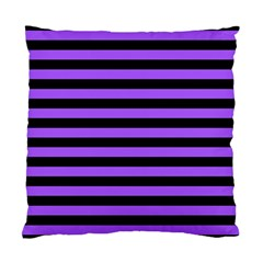 Purple Stripes Cushion Case (two Sided)