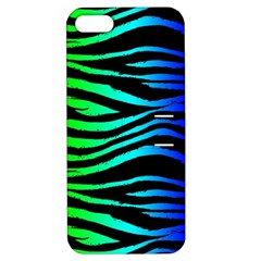 Rainbow Zebra Apple Iphone 5 Hardshell Case With Stand by ArtistRoseanneJones
