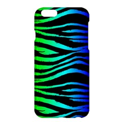 Rainbow Zebra Apple Iphone 6 Plus Hardshell Case by ArtistRoseanneJones