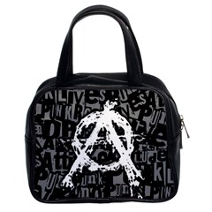 Anarchy Classic Handbag (two Sides)