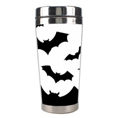 Deathrock Bats Stainless Steel Travel Tumbler by ArtistRoseanneJones