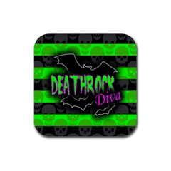 Deathrock Diva Drink Coasters 4 Pack (square)