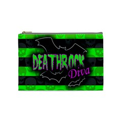 Deathrock Diva Cosmetic Bag (medium)