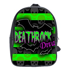 Deathrock Diva School Bag (large)