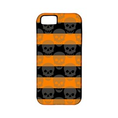 Deathrock Stripes Apple Iphone 5 Classic Hardshell Case (pc+silicone) by ArtistRoseanneJones