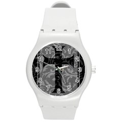 Goth Brocade Cross Plastic Sport Watch (medium) by ArtistRoseanneJones