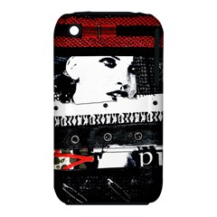 Punk Chick Apple Iphone 3g/3gs Hardshell Case (pc+silicone)