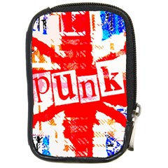Punk Union Jack Compact Camera Leather Case