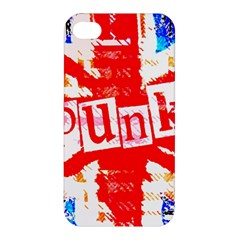 Punk Union Jack Apple Iphone 4/4s Hardshell Case by ArtistRoseanneJones