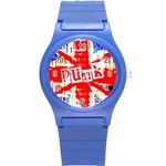 Punk Union Jack Plastic Sport Watch (Small) Front