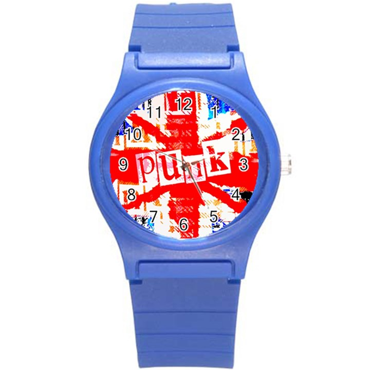 Punk Union Jack Plastic Sport Watch (Small)