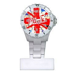 Punk Union Jack Nurses Watch by ArtistRoseanneJones