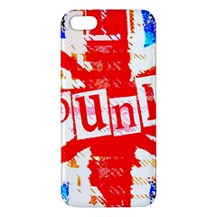 Punk Union Jack Iphone 5s Premium Hardshell Case by ArtistRoseanneJones