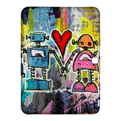 Graffiti Pop Robot Love Samsung Galaxy Tab 4 (10 1 ) Hardshell Case
