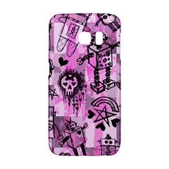 Pink Scene Kid Sketches Samsung Galaxy S6 Edge Hardshell Case by ArtistRoseanneJones