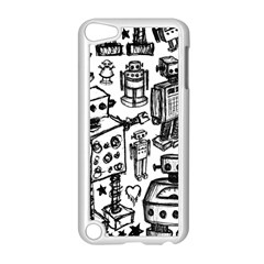 Robot Crowd Apple Ipod Touch 5 Case (white)