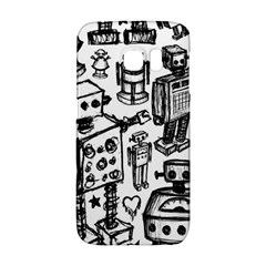 Robot Crowd Samsung Galaxy S6 Edge Hardshell Case
