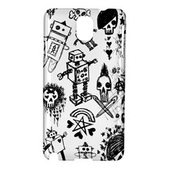 Scene Kid Sketches Samsung Galaxy Note 3 N9005 Hardshell Case by ArtistRoseanneJones