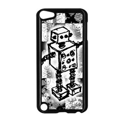 Sketched Robot Apple Ipod Touch 5 Case (black)