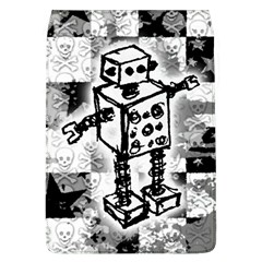 Sketched Robot Removable Flap Cover (l) by ArtistRoseanneJones