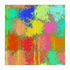 Colorful Paint Spots Medium Glasses Cloth (2 Sides) by LalyLauraFLM