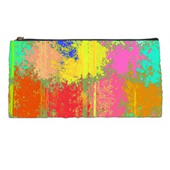 Colorful Paint Spots Pencil Case by LalyLauraFLM