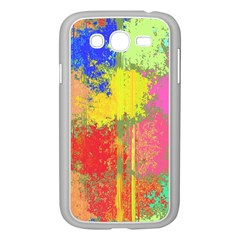Colorful Paint Spots Samsung Galaxy Grand Duos I9082 Case (white) by LalyLauraFLM