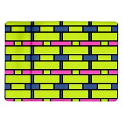 Pink,green,blue Rectangles Pattern Samsung Galaxy Tab 10 1  P7500 Flip Case by LalyLauraFLM