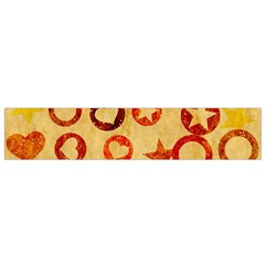 Shapes On Vintage Paper Flano Scarf