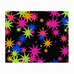 Colorful Stars Pattern Small Glasses Cloth by LalyLauraFLM
