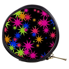 Colorful Stars Pattern Mini Makeup Bag by LalyLauraFLM
